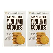 Golden Door Irresistible Cookies 2-pack - Yuzu Lemon