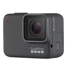 GoPro Hero 7 Silver 4K 10MP Action Camera with Voice Control