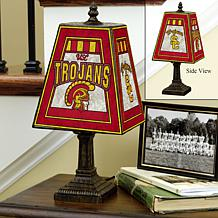 Handpainted Glass Table Lamp - Southern California