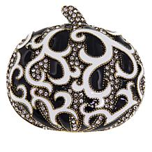 "Heidi Daus ""Dazzling Damask Pumpkin II"" Crystal and Enamel Pin"