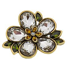 "Heidi Daus ""Flower Show"" Crystal Ring"