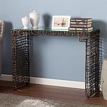 Hermann Woven Console Table