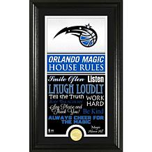 "Highland Mint ""House Rules"" Bronze Coin Photo Mint - Orlando Magic"