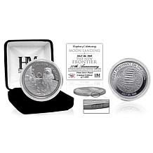 "Highland Mint Moon Landing ""The New Frontier"" Silver Mint Coin"