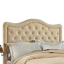 Hillsdale Nailhead Fabric Headboard