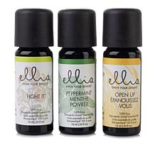 Homedics Ellia Essential Oils 3-pack