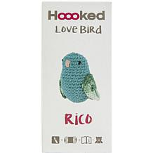 Hoooked Love Bird Yarn Kit with Eco Barbante Yarn - Turquoise