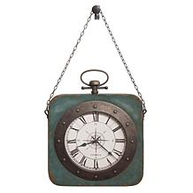 """Howard Miller """"Windrose"""" Antique Wall Clock on a Chain"""