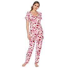f3d10cb41b3 HUE 2-piece Valentine s Day Sleepwear Set