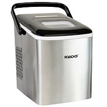 Igloo 26 lb. Self-Cleaning Portable Stainless Steel Ice Maker Machine