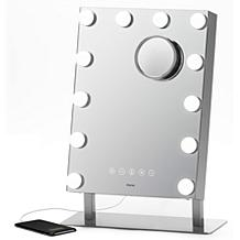 iHome Hollywood Pro Bluetooth Vanity Mirror with USB Charging