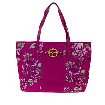 IMAN Global Chic Luxury Resort Printed Tote