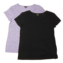 IMAN Global Chic Perfect Luxe Buy One, Get One Comfort Tees