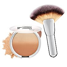 IT Cosmetics Ombre Radiance Bronzer with Luxe Brush