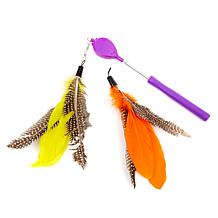 Jackson Galaxy Air Prey Wand Cat Toy Bundle
