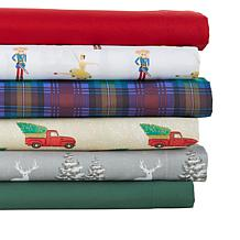 Jeffrey Banks 4-piece Holiday Sheet Set