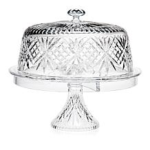 Jeffrey Banks Dublin 4-In-1 Crystal Covered Cake Stand