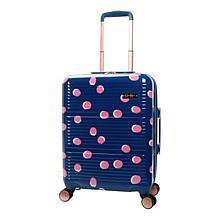 Jessica Simpson French Dot Hardside Luggage - Navy