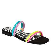Jessica Simpson Raexe 2-Band Embellished Slip-On Sandal