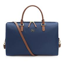 JOY Luxe Lightweight Nylon & Leather Weekender with RFID