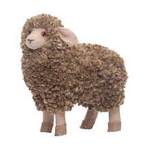 Jute Lamb Hard Figure