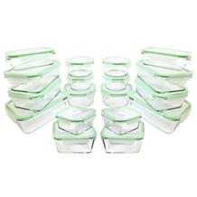 Kinetic 36-piece Glassworks Food Storage Set