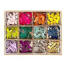 Kingston Crafts Essentials 1,080 Piece Chipboard Megapack