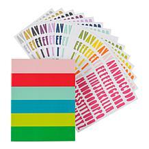 Kingston Crafts Everyday Alpha Stickers
