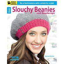 """Knit Slouchy Beanies and Headwraps"" Book"