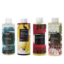 Korres 4-piece Hydrating Jumbo Shower Gel Set
