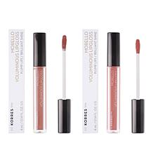 Korres Morello Voluminous Lip Gloss Duo