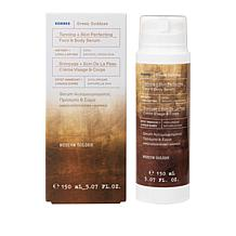 Korres Skin Perfecting Face & Body Tanning Serum with Gloves