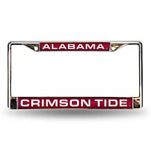 Laser-Cut License Plate Frame - University of Alabama