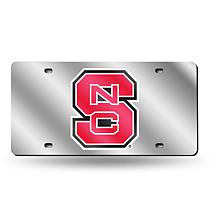 Laser Tag License Plate - North Carolina State University