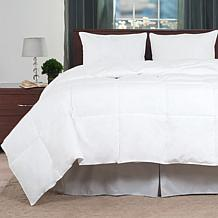 lavish home cotton feather down comforter fullqueen