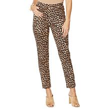 Lemon Way Pull-On Ponte Straight Leg Pant