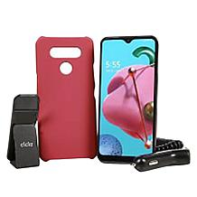 """LG Reflect 6.5"""" HD+ Tracfone with 1500 Min/Text/Data with Clckr Grip"""