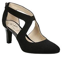 LifeStride Giovanna Perforated Micro-Suede Pump