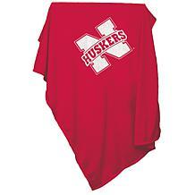 Logo Chair Sweatshirt Blanket - University of Nebraska