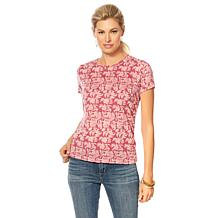 Lucky Brand Floral-Print Tee