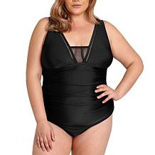 Lysa 1-piece Swimsuit with Mesh