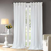 "Madison Park Emilia Curtain - White - 50"" x 120"""