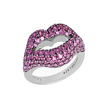 Margo Manhattan Sugar Kiss Sterling Silver Rhodolite Ring
