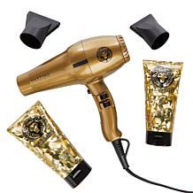 Martino Cartier Gold  Turbo Dryer Set with Shampoo and Conditioner