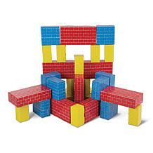 Melissa & Doug Deluxe Jumbo Cardboard Blocks