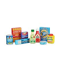 Melissa & Doug Wooden Pantry Products Set