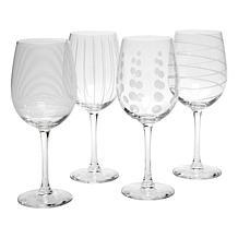 Mikasa Cheers Set of 4 White Wine Glasses - 16 oz.