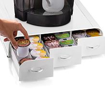 Mind Reader 36-Pod 3-Drawer Coffee Pod Organizer