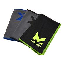 MISSION™ HydroActive MAX 3-Pack Cooling Towels