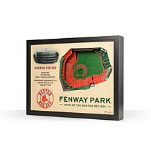 MLB Boston Red Sox StadiumViews 3-D Wall Art - Fenway Park